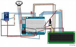 Circuit Diagram For Iot Project  Heart Beat Monitoring