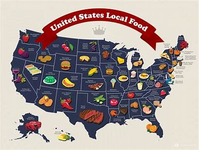 Map States United Local Visual Infographic Embed