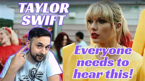 My Reaction To Taylor Swift You Need To Calm Down! - YouTube