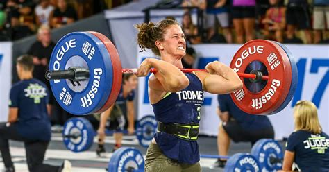 crossfit games fittest woman earth toomey tia