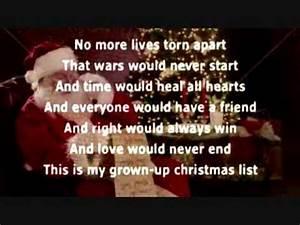Karl Navarro My Grown Up Christmas List Cover Michael