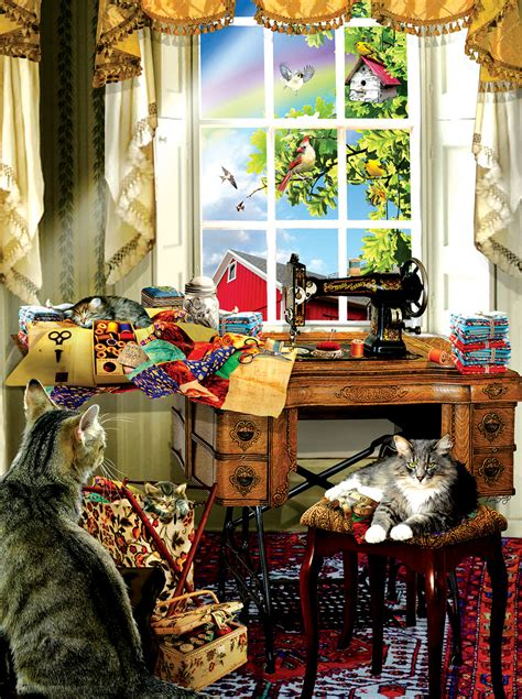 sewing room jigsaw puzzle puzzlewarehousecom