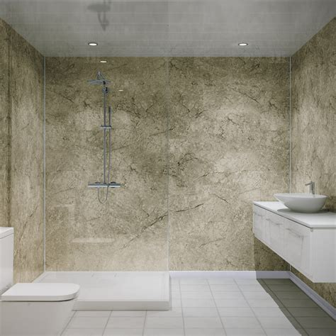 multipanel classic antique marble unlipped bathroom wall panel