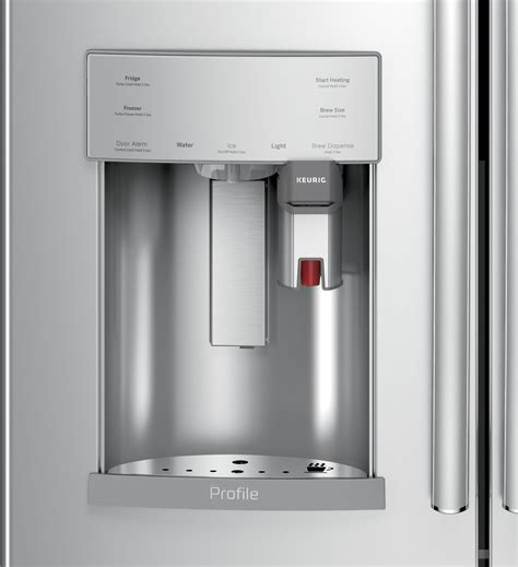pfepskss ge profile    cu ft french door refrigerator stainless steel