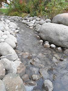A, Stream, Offers, The, Soothing, Sounds, Of, Water, Throughout, A
