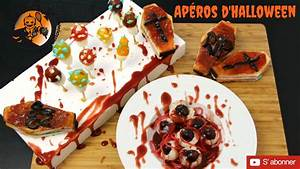 Recette Apéro Halloween : 3 recettes d 39 ap ro pour halloween attention vid o choquante la regardez vous jusqu 39 la fin ~ Melissatoandfro.com Idées de Décoration