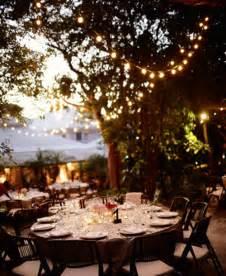 outdoor wedding reception decorations romantic decoration