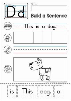 phonics letter of the week d letter d crafts phonics kindergarten writing letter of the week