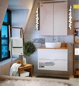 Catalogue Salle De Bains Ikea : d coration salle de bain ikea exemples d 39 am nagements ~ Dode.kayakingforconservation.com Idées de Décoration