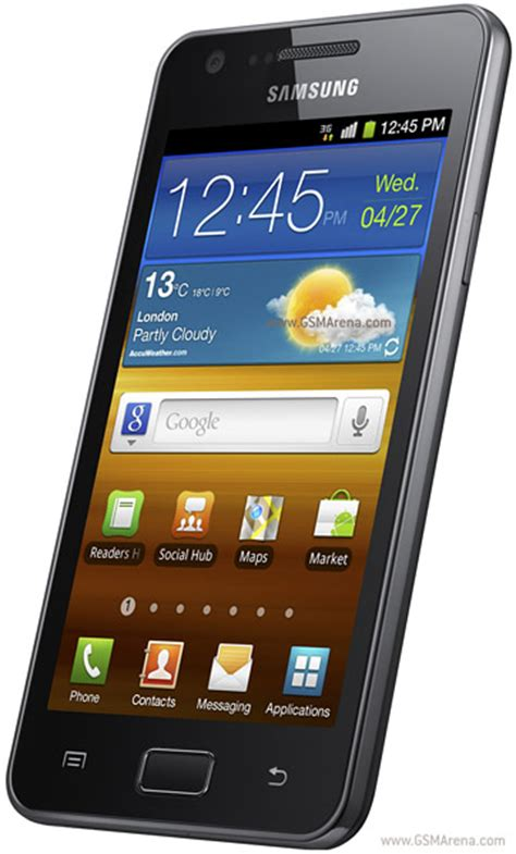 Samsung I9103 Galaxy R Pictures Official Photos