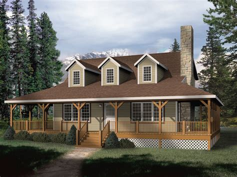 country house plans with wrap around porches park rustic home plan 058d 0032 house plans and more
