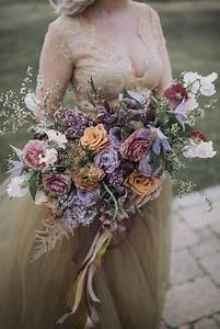 Gold Chart Trend Rose Gold And Violet Garden Inspiration Perfect For Spring