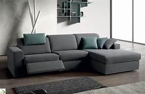 Divano moderno con sistema relax Lous Arredo Design Online