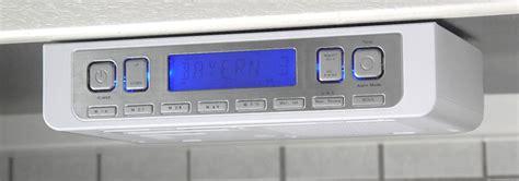 white under cabinet radio kitchen radio