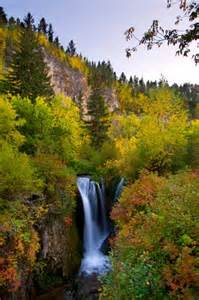 South Dakota Spearfish Canyon Falls