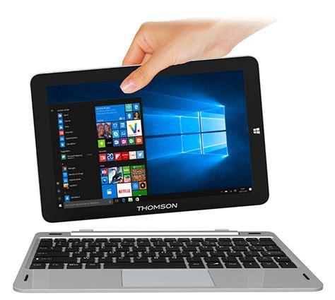 ordinateur portable léger achat thomson 10 hero10 32b gris ordinateur portable 10 1