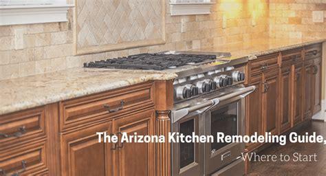 arizona kitchen remodeling guide   start