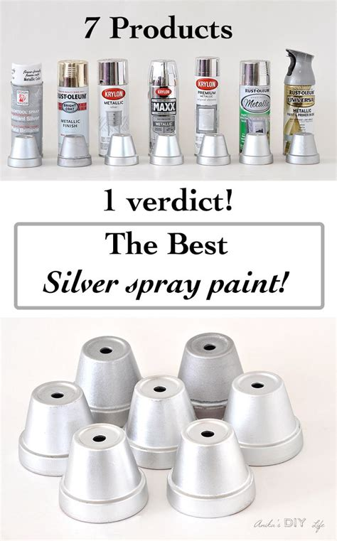 25+ Best Ideas About Silver Spray Paint On Pinterest