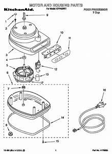 Kitchenaid Food Processor Parts