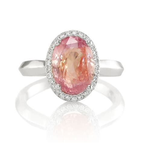 gorgeous padparadscha sapphire ring and necklace the natural sapphire company testimonials