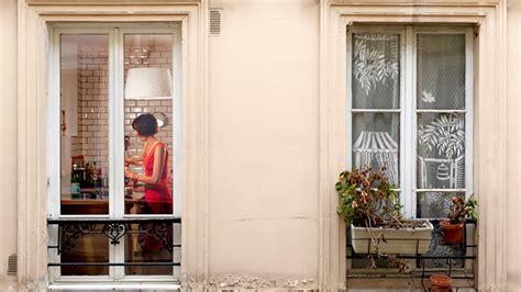 fine art  spying   neighbors