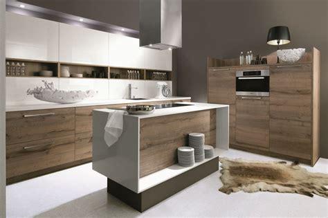 cuisine moderne blanc et bois cuisine moderne bois blanc le bois chez vous
