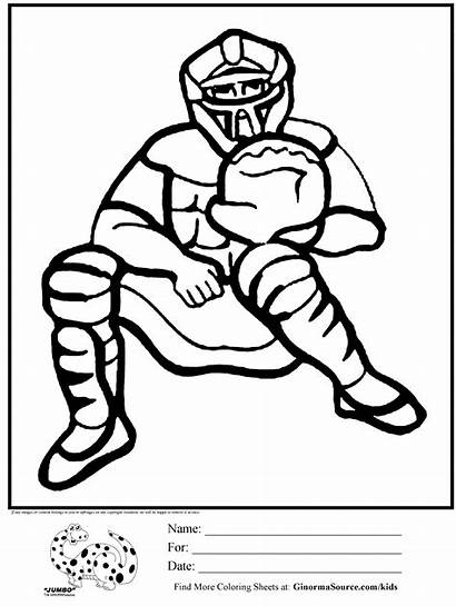 Coloring Baseball Player Pages Boys Boy Popular