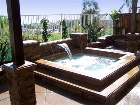 garden designs with tubs 65 awesome garden hot tub designs digsdigs