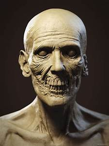 The Anatomy of a Zombie   Andor Kollar - Character Artist  Zombie