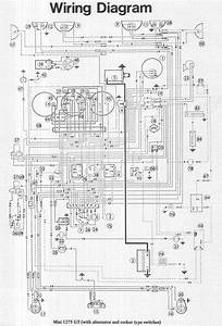1969 Mini Cooper Wiring Diagram