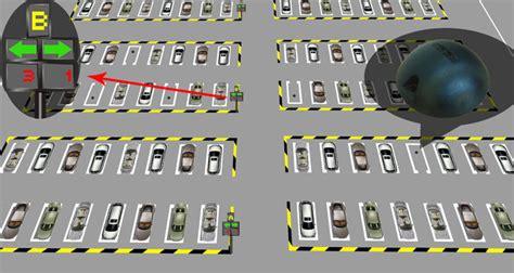 smart wireless car parking lot sensor  parking guidance