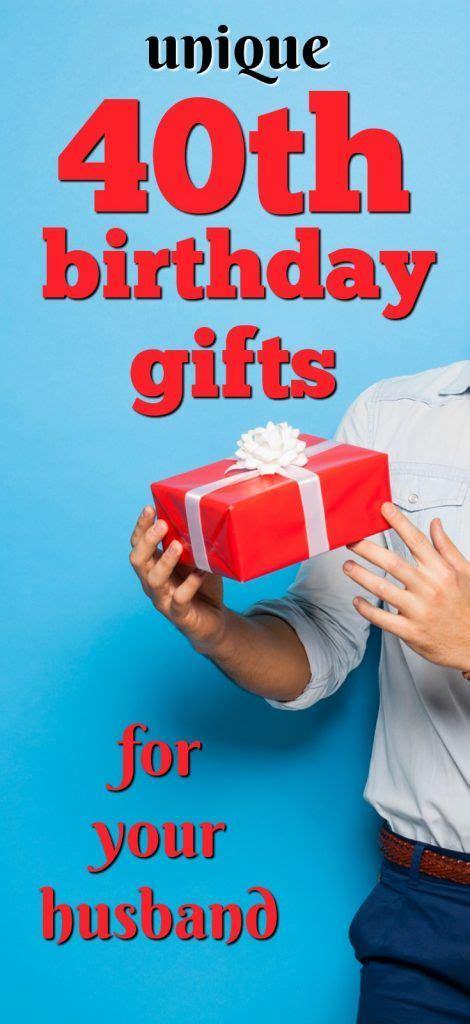 25 Unique 40th Birthday Presents Ideas On Pinterest