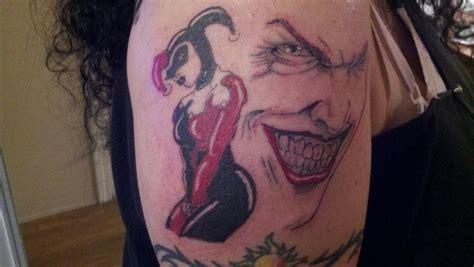 cool harley quinn tattoos