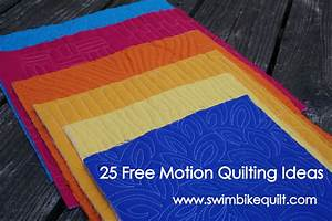 25 free motion quilting ideas part 1 With free motion quilting ideas