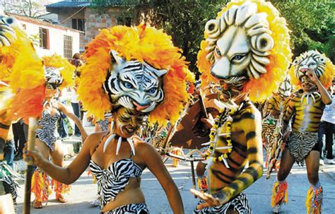 carnaval de barranquilla los afrocolombianos  el