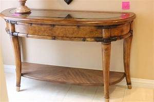 Lot, 168, Heavy, Quality, Entry, Table, Sofa, Table