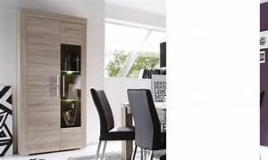 vaisselier moderne couleur chene clair crossing With couleur de meuble tendance 5 buffet haut chene clair moderne crossing