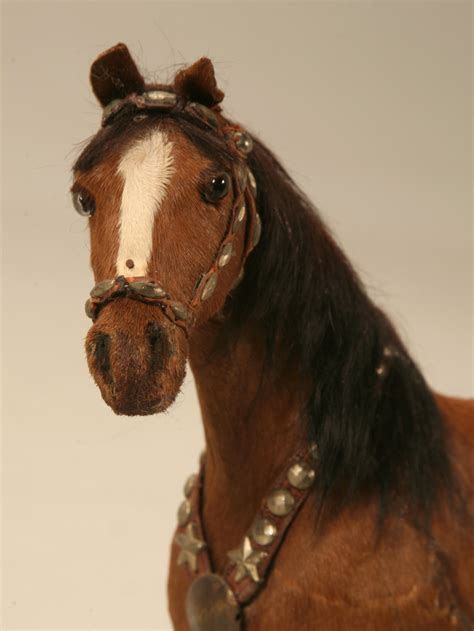horse figurine real horse hair  sale  plank