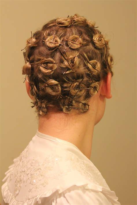 Pin Up Life: hair setting and pincurls