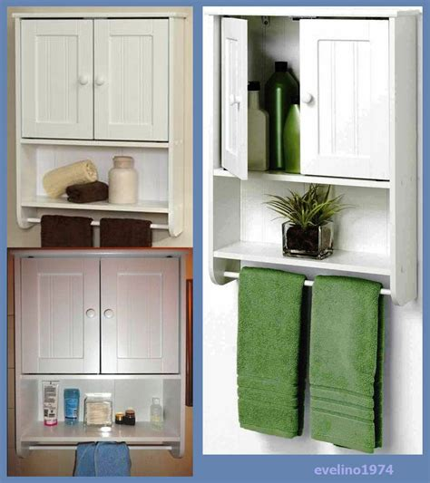 Bathroom Wall Cabinet With Towel Bar by Wall Cabinet Towel Bar Toilet Storage Medicine Cabinet