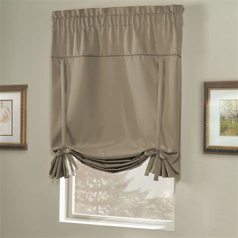 Curtain Shades by United Curtain Co Blackstone Tie Up Shade Reviews