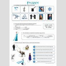 17 Free Esl Frozen Worksheets