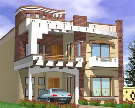 Home Design 7 Marla : Pakistani Small House Plans