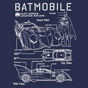 Batmobile Schematics T