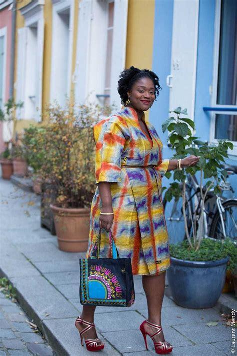 Robe en tissu africain
