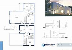 HD Wallpapers Plan Maison Contemporaine Niveaux Wwwandroidcf - Plan maison 2 niveaux