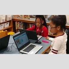 Brosville Elementary Students Learn Coding Skills With