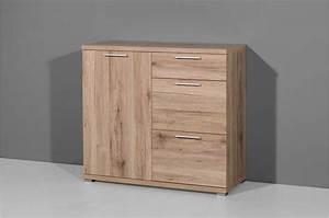 Commode 3 Tiroirs : meuble commode 3 tiroirs et 1 porte ~ Teatrodelosmanantiales.com Idées de Décoration