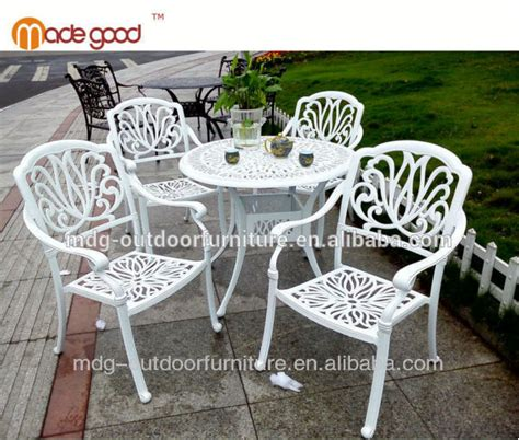 Garden Ridge Outdoor Furniture Aluminum Table And Chairs
