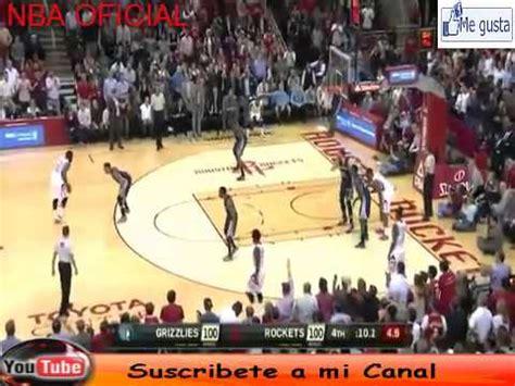 Memphis Grizzlies VS Houston Rockets - 2015 - YouTube